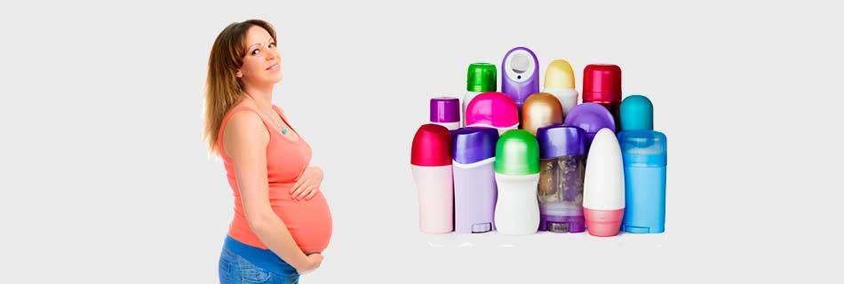 Фото: можно ли применять антиперспирант при беременности ?