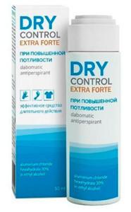 Фото: дезодорант Драй Контроль Форте - отечественное и недорогое средство от сильной потливости