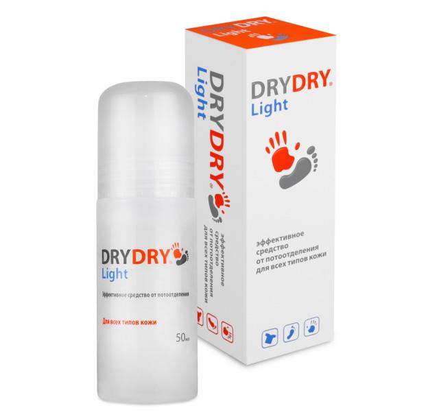 Фото: антиперспирант Dry Dry Light для всех типов кожи