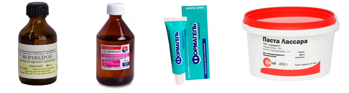 Фото: мази и жидкости с формальдегидом используются очень давно и достаточно эффективны