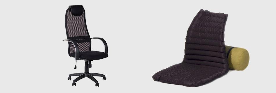 Фото: специальные кресла и накидки иногда решают проблему потливости