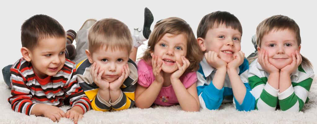 Фото: формирование детской системы потоотделения